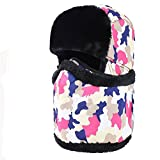 Z-P Unisex Athletic & Outdoor Clothing Skiing & Snowboarding Keep Warm Windproof Masks Cold-Proof Water-Proof Earflaps Neckerchief Hat In Winter