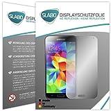 Slabo 2 x Displayfolie kompatibel mit Samsung Galaxy S5 | S5 Neo Displayschutzfolie Zubehör No Reflexion MATT
