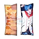 Cosplay-FTW Kpop BTS Pillow Love Yourself Her Suga Body Pillow Peach Skin Cotton Polyester Blend 40cm x 100cm (Set of 1, CASE ONLY)