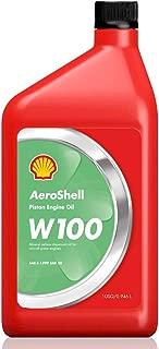 AeroShell W100 Ashless Dispersant Oil - 1 Quart