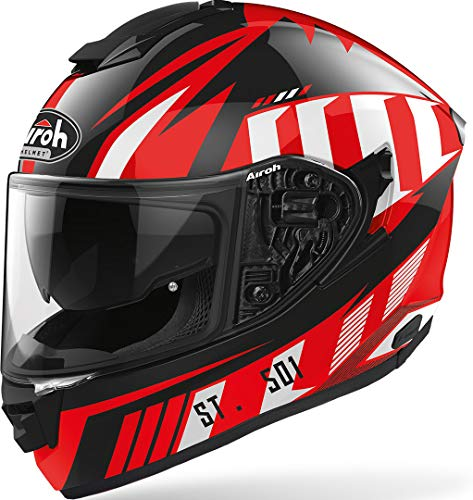 CASCO AIROH ST.501 BLADE RED GLOSS L
