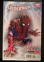Comic Con 2014 - Amazing Spider-Man 1 GameStop Sketch Fade Variant Greg Horn Convention Exclusive