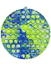 LINTONG Giocattolo Anti-stress Anti stress, Giocattolo Anti-stress sensoriale per ansia, Agitarsi Toy Pop-it,Giocattoli Antistress, Push Pop-it Bubble Sensoriale (20 × 20 cm)