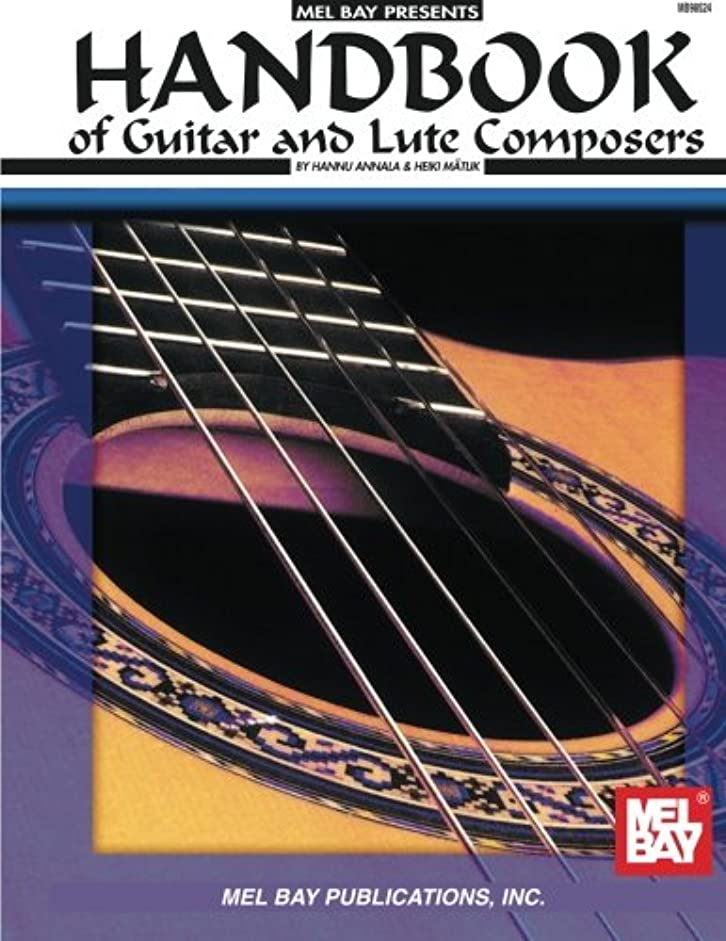 ポータブル同一の雇用Handbook of Guitar and Lute Composers