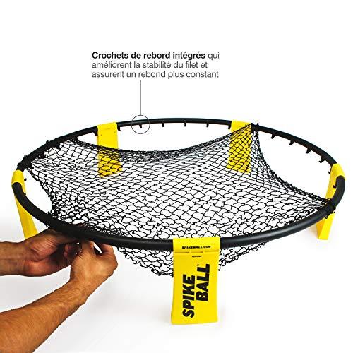 Set de Spikeball - Pour jouer en plein air, à l'intérieur, sur l'herbe ou sur le sable -...
