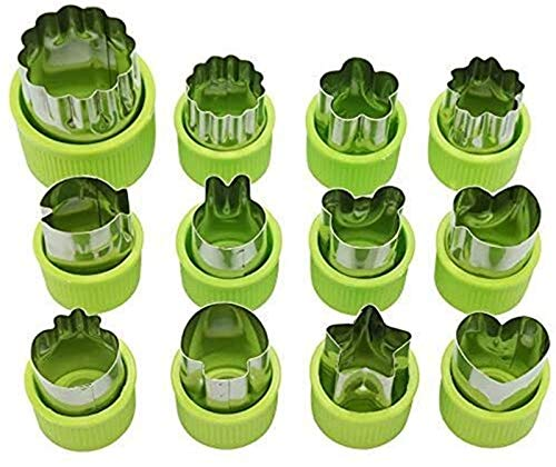 HJHQQ-CZYHG Food Vegetable Shape Cutters Cookie Cutters, Cutter Shapes Sandwich Shape Cutters, for Children Food Cutters