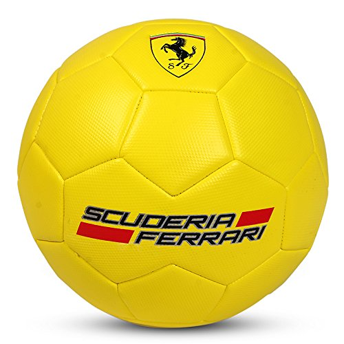 Ferrari Ball Balón de Fútbol Colección Oficial Amarillo...