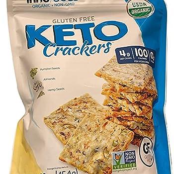 keto crackers no carb