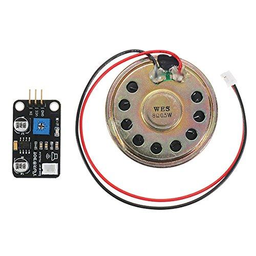 Ils - 5 stuks luidsprekermodule eindtrap muziekspeler module elektronische bouwstenen voor Arduino