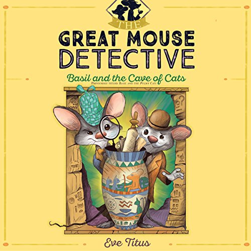 Basil and the Cave of Cats audiobook cover art