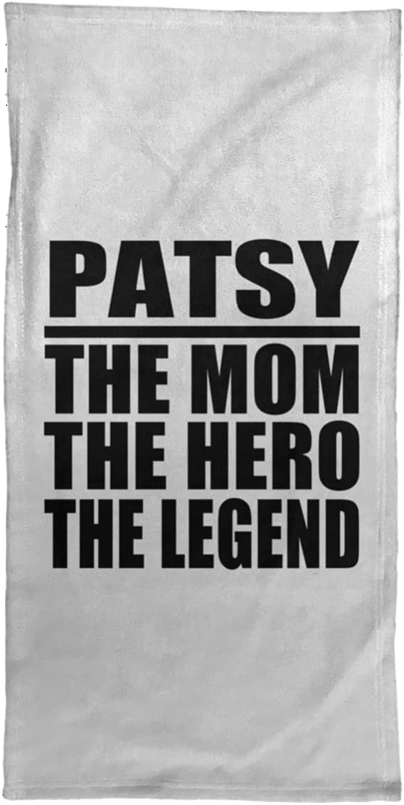 Designsify Patsy The Mom Charlotte Mall Hero - OFFicial store Legend Hand Towel 15x30