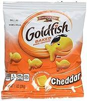 Pepperidge Farm Cheddar Goldfish Crackers, 45 - 1oz Pouches 海外直送