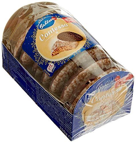 Bahlsen Contessa würzige runde Lebkuchen mit Schokoboden – 200 g