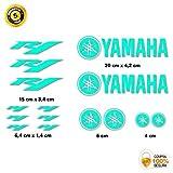 Pegatina Adhesivo Sticker Decals AUTOCOLLANTS Yamaha R6 Vinilo Troquelado Moto 15 Unidades Amarillo Disponible en 16 Colores