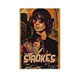 XFVS The Strokes Indie ROC Portraits Canvas Art Poster