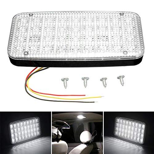 ROSEBEAR 12V 36 Led Vehículo Interior del Coche Luz Techo Techo Techo Lectura Tronco Lámpara de Luz del Coche Car Styling Luz Nocturna