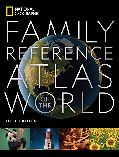Compare Textbook Prices for National Geographic Family Reference Atlas  National Geographic Family Reference Atlas of the World 5 Edition ISBN 9781426221446 by National Geographic