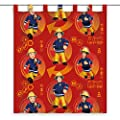 Herding Rideau en Polyester Motif Sam Le Pompier,…