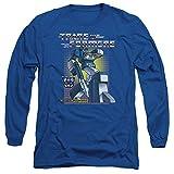 Transformers Long Sleeve T-Shirt Soundwave Royal Tee, XL