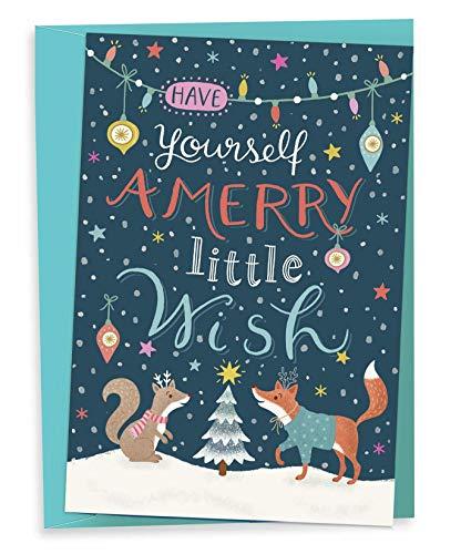 Es weihnachtet sehr: 8 Weihnachtsklappkarten mit Kuvert