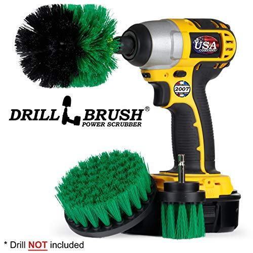 /Medium Soft Stiff alimentazione per trapano spazzolone per pulizia doccia vasche piastrelle Carpet Upholstery cemento mattoni Oxoxo drill Brush/