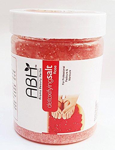 ABH Professional Detoxifying Salt Rose Pedicure & Manicure Salt 500g Dead Sea Salt Soak Assorted