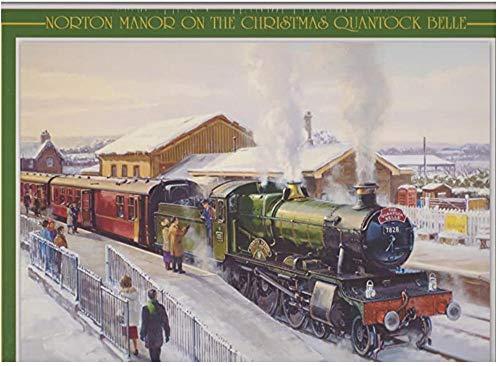 YTHK Norton Manor auf der Weihnachts Quantock Belle - Puzzle (1000 Stück) Transport, Dampfmaschinen, Züge, Eisenbahnen, Lokomotiven