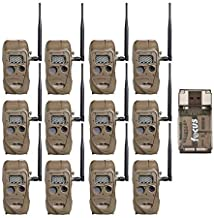 Cuddeback CuddeLink J Series Long Range IR Trail Camera (12-Pack), 20 Megapixels, Built-in Wireless Network