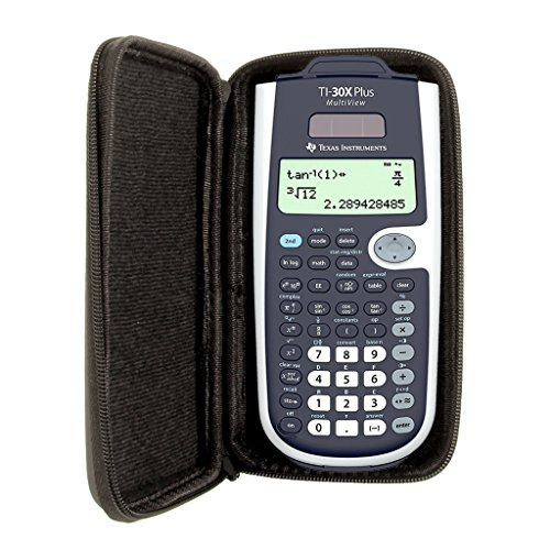 Schutztasche für Taschenrechner von Texas Instruments, für Modell: TI 30 X Plus MV