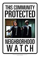 [アクエリアス]Aquarius Neighborhood Watch Pulp Fiction Tin Sign 30127 [並行輸入品]