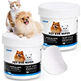 Best Eye Stain Remover For Dogs - OPULA Dog Eye Wipes,Cat Dog Eye Cleaner, Pet Review