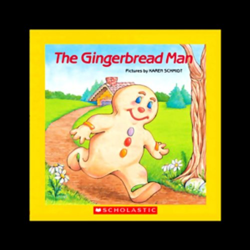 The Gingerbread Man [Scholastic] audiobook cover art