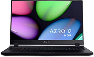 GIGABYTE AERO 17 HDRノートパソコン・All Intel Inside/Microsoft Azure AI/ 17.3インチ/Samsungメモリ採用/ Intel 760P SSD (4K HDR | RTX 2070 | i7 9750H | 8G*2 |512GB SSD)