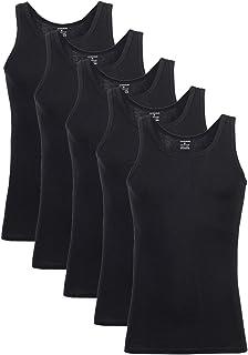 comprar comparacion Falechay Camiseta Tirantes para Hombre Pack de 5 de Algodón 100% Camisetas Interiores Deporte más Colores