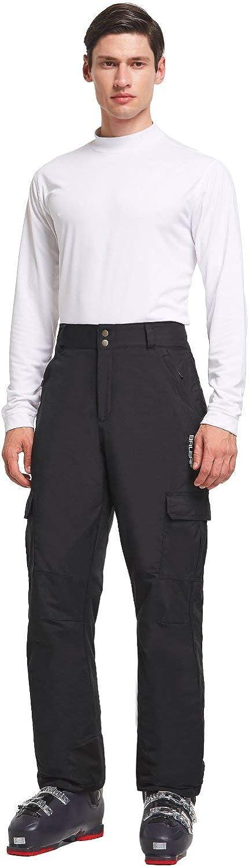 BALEAF/Mens/Ski Pants Windproof Snow//Snowboarding/Insulated/Pants Windbreaker//Waterproof 5K//5K