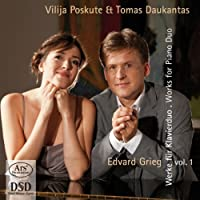 Piano Duets 1 by Edvard Grieg (2013-05-03)