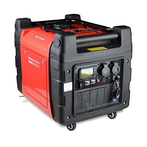 Ective SG3400Si 3200W/3,2kW Inverter Generator, Digitaler Stromerzeuger Benzin
