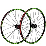 <span class='highlight'><span class='highlight'>CHUDAN</span></span> 27.5-Inch Bicycle Wheelset Rear Wheel, Double-Walled MTB Rim Quick Release Wheelset Disc Brake Palin Bearing Mountain Bike 24 Perforated Disc 8/9/10 Speed,27.5in