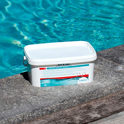 Bayrol Soft & Easy 2,24 kg Granulado de oxígeno Activo, Blanco