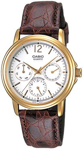 [カシオ] 腕時計 スタンダード MTP-1174Q-7AJF ブラウン