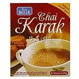 Té Instantáneo Karak Chai con leche en polvo, azúcar y cardamomo, 8 x 25 g sobres