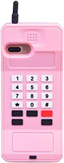 iPhone 8 Case Cute iPhone 7 Case Cute iPhone 6S Case iPhone 6 Case Stand 3D Cartoon Retro Cellular Phone Shaped Silicone Girls Women Cute Phone Cases iPhone 8 7 6S 6 4.7