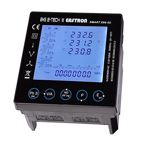 X95-5C digitales Panelmeter (Einbaumessgerät/Multimessgerät) 96 * 96mm RS485 Modbus RTU