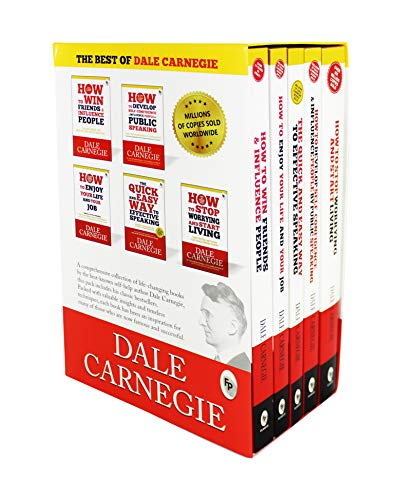 Price comparison product image The Best of Dale Carnegie (Set of 5 Books)
