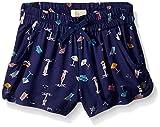Roxy Girls' Toddler Meet Me in The City Shorts, deep Cobalt on The Beach, 3