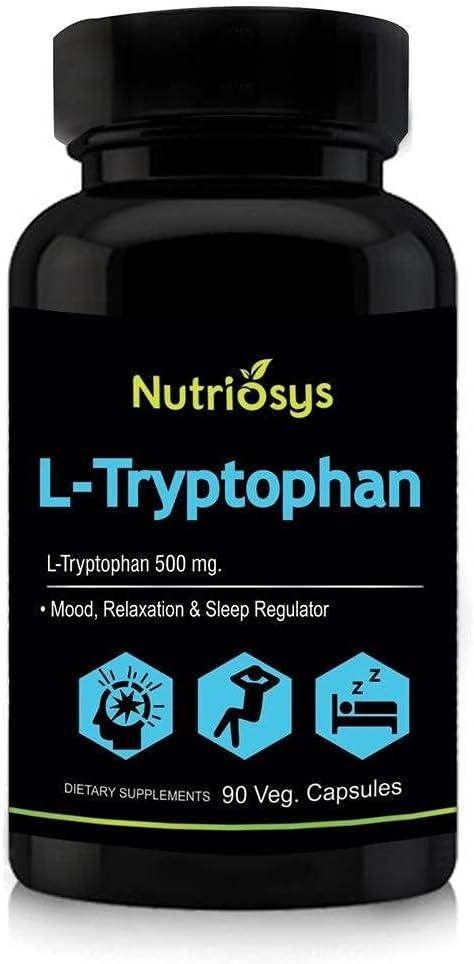 Panihari Nutriosys L-Tryptophan Cheap Ranking TOP8 500mg 90 - Veg Capsules