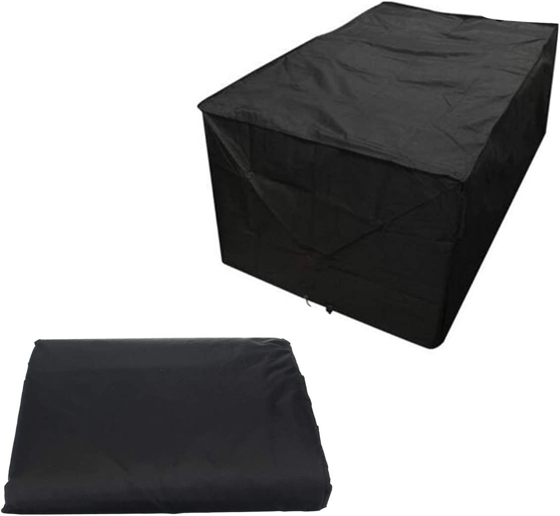 Max 84% OFF YINUODAY Patio Furniture Covers Heavy Direct store Duty Sofa L-Shaped Cover