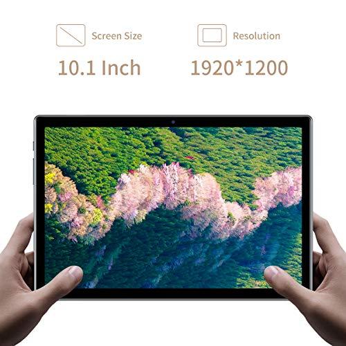 Tablet 10 Zoll, 4G LTE TECLAST P20HD Tablett PC Android 10, 4 GB RAM 64 GB ROM, Okta Kern Prozessor, 1920 × 1200 FHD IPS, 2MP + 5MP Dual-Kamera, GPS WiFi Bluetooth 5,0 Typ-c TF-Karte 6000 mAh