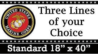 Partypro US Marine Corps Banner Standard (18