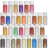 DEWEL Naturale Pigmenti Coloranti, Mica Powder Colori Mica Polvere Colorante Polveri Perla...